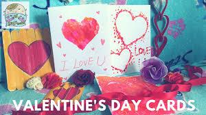 easy arts u0026 crafts for kids diy valentine u0027s day card x3 youtube