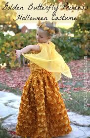 golden butterfly princess halloween costume