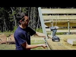 Deck Bench Bracket Bench Bracket Installation Installation D U0027un Support De Banc