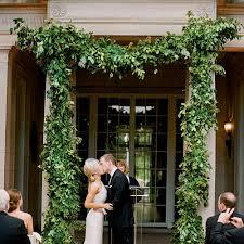 wedding arch greenery beautiful wedding arches southern living