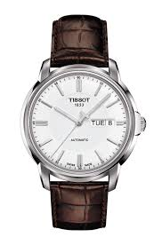 tissot watches leather bracelet images Tissot automatics iii t0654301603100 png