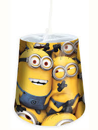 despicable me minions tapered ceiling light shade despicable me