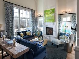 Decorating Living Room With Gray And Blue Decorating Charming Living Room Design With Pretty Blue Carpet By