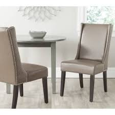 Leather Dining Chair Leather Kitchen Dining Room Chairs For Less Overstock