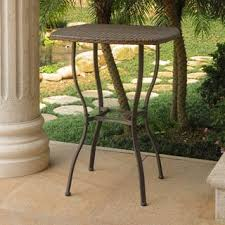 Outdoor Bistro Table Bar Height Outdoor Dining Tables Shop The Best Deals For Dec 2017