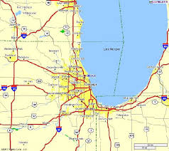 illinois map usa map showing the location of skokie in illinois usa image