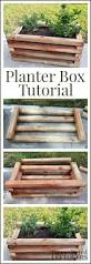 Diy Patio Planter Box Diy Planter Box Tutorial Perfect For Growing Berries And Other