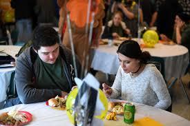 aos celebrates thanksgiving local democratherald