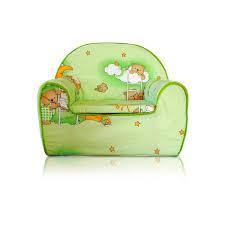 siege bebe mousse fauteuil pour enfant canapé siège enfant en mousse 03 ours vert