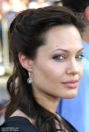 haircut for ling face with high cheek bones the oval face shape of angelina jolie and the hairstyles she can wear