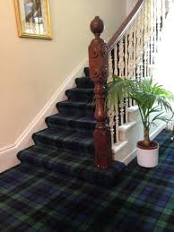 Carpet For Dining Room by Tartan Carpet For The Stairs Or The Dining Room Snug