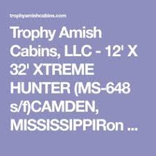 trophy amish cabins llc 12 x 32 xtreme lodge 648 s f sugar trot house by max fulbright designs cabin