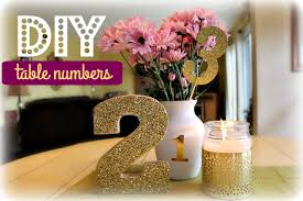 table numbers with pictures diy table numbers white gold edition kelly lamich youtube