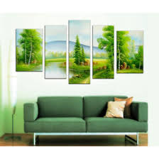 discount green trees wall canvas 2017 green trees wall canvas on