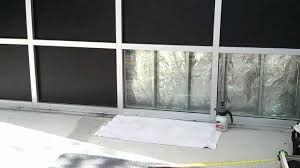 light blocking window film tint by frank in coconut creek south florida black out vinyl window