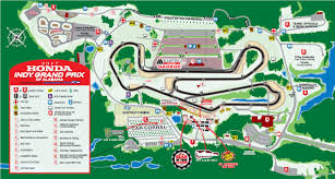 Mid Ohio Track Map by Autoracing1 Com Irl Schedule Page