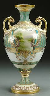 Chinese Hand Painted Porcelain Vases 379 Best Nippon Porcelain Handpainted Images On Pinterest