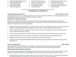 mechanical design engineer resume sample brilliant ideas of site
