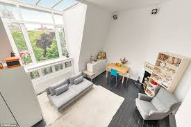 Picture Studio London Studio Flat In 6ft Wide Apartment Block Goes On The Market