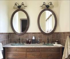 bathroom oval bathroom mirrors ideas cool features 2017 oval