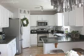 snow white milk paint kitchen cabinets kitchen in snow white milk paint general finishes design
