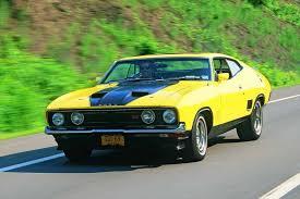 Australian Muscle Cars - g hemmings the 1975 muscle cars great australian road car ford