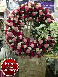 funeral flowers delivery 16 best sympathy flowers manila images on sympathy