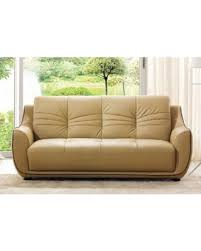 Leather Sofa Beige Tis The Season For Savings On Luca Home Cappuccino Italian Leather