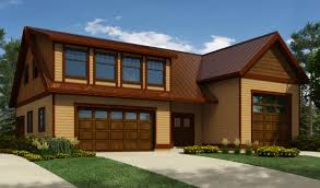 rv garage plan with shed dormer 9832sw architectural designs