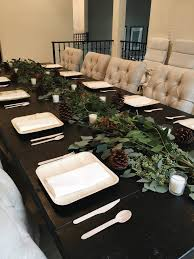 Diy Thanksgiving Table Runner The Chic Site by Easy Hosting Tips For Thanksgiving