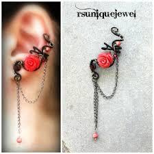 wire ear cuffs 127 best wire wrapped ear cuffs images on ear cuffs