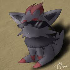 zorua equipped the black glasses pokémon know your meme