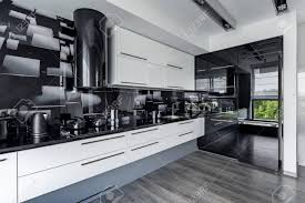 black walls white kitchen cabinets contemporary and kitchen with white cupboards and black
