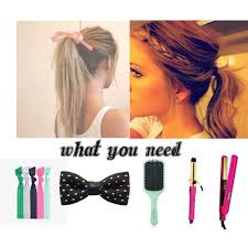 pop bands hair back to school polyvore