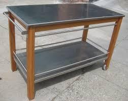 metal kitchen island kitchen stainless steel rolling cart kitchen island best