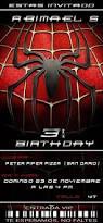 8 best spiderman birthday party images on pinterest spiderman