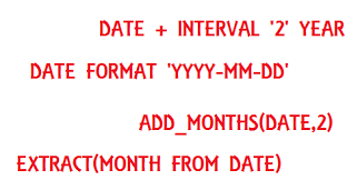 format date yyyymmdd sql teradata date functions teradata sql tutorial