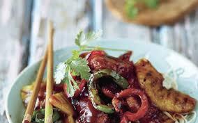 douce cuisine dés de porc frits à l aigre douce cuisine et recettes recette