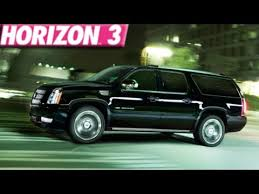 build a cadillac escalade forza horizon 3 230 mph cadillac escalade build