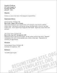 Hairstylist Resume Examples by Arts And Design Resume Examples Hair Stylist Resume Example