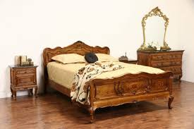 bedroom distressed nightstand bed side tables bedroom decoration