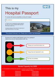 hospital passport template