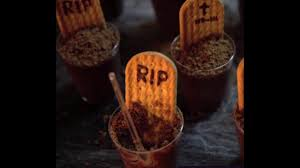 how to make graveyard chocolate cup dirt dessert recipe halloween