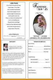 memorial service programs templates free 7 free memorial service program template itinerary template sle