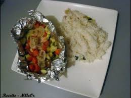 cuisiner avec un rice cooker papillotes de saumon au rice cooker recette ptitchef