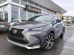 spinelli lexus lachine quebec 2017 lexus nx 200t f sport série 2 used for sale in navigation awd