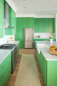 green kitchen island green island with marble transitional kitchen