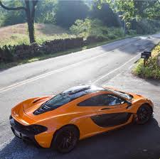 mclaren p1 crash test mclaren p1 painted in papaya orange w exposed carbon fiber photo