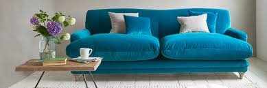 Velvet Tufted Loveseat Furniture Trendy Blue Velvet Couch Design To Inspired Your