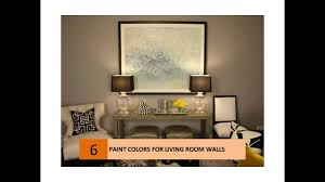 Livingroom Walls by Interesting Paint Colors For Living Room Walls Youtube